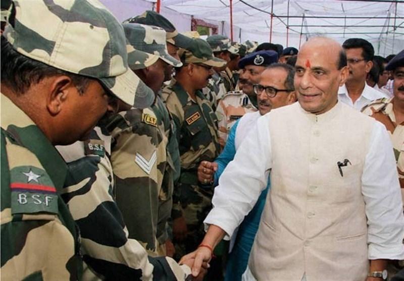 راج ناتھ بھاری فوج