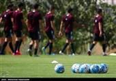 آخرین تمرین تیم ملی فوتبال پیش از دیدار با کره جنوبی