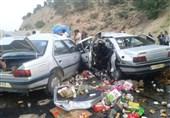 توقیف خودرو شوتی با 600 میلیون ریال کالای قاچاق در محور تنگستان