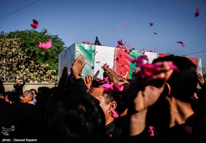 تشییع شهید محمد رشیدی - فارس