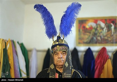 آیین تعزیه خوانی در روستای حصار قزوین