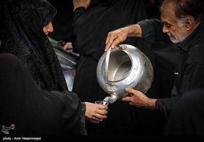 مراسم عزاداری شب تاسوعا در قم