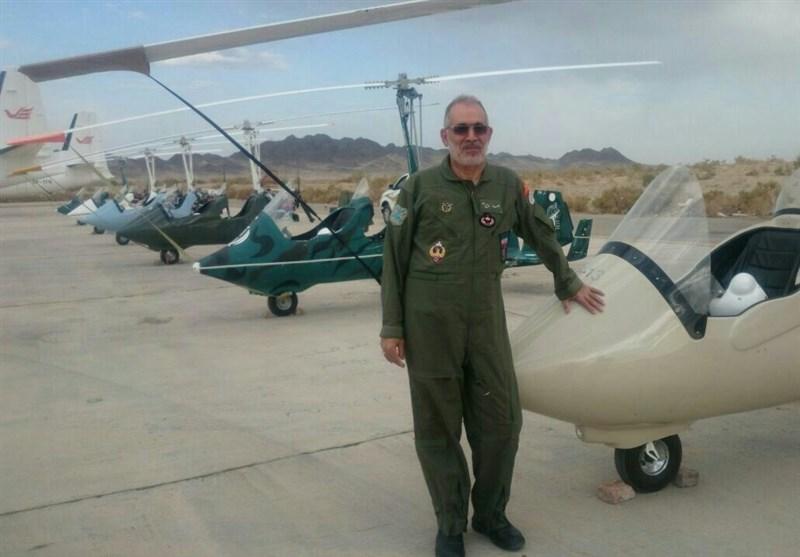 تصاویر/ سردار شهید مایلی فرمانده گردان هوایی یگان ویژه صابرین