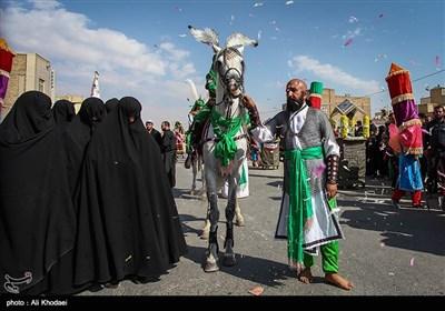 قافله نمادین عاشورا - اصفهان
