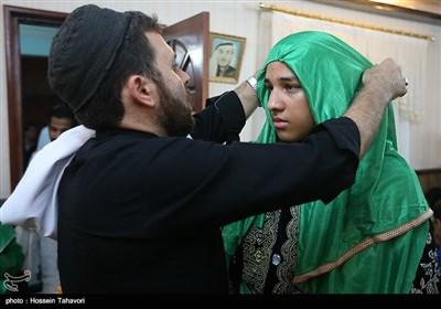 مراسم العزاء الحسيني لهيئة كربلاء في جزيرة كيش