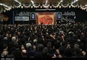 مراسم عزاداری شب تاسوعا در حسینیه ثارالله - اردبیل