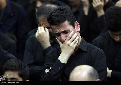 Mourners in Iran's Ardabil Commemorate Tasu'a
