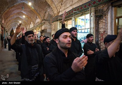 Muharram Mourning in Tabriz Grand Bazaar