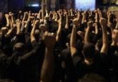 بحرین میں شیخ عیسی قاسم کے گھر کے مضافات میں نویں محرم کی عزاداری+تصویری رپورٹ