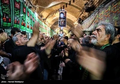 عزاداری تاسوعای حسینی در بازار تهران