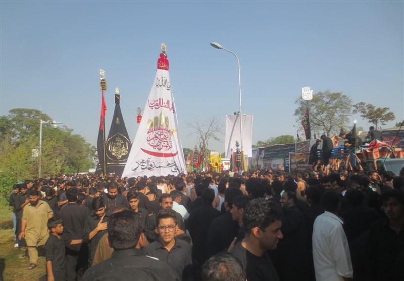 پاکستان در روز عاشورای حسینی یکپارچه عزادار شد+تصاویر
