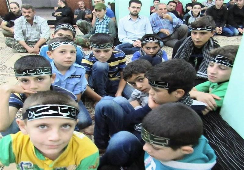 أهالی بلدتی نبل والزهراء بریف حلب یحیون لیالی عاشوراء+صور