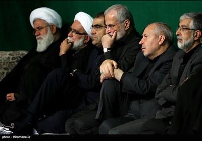 چهارمین شب عزاداری محرم در حسینیه امام خمینی (ره)