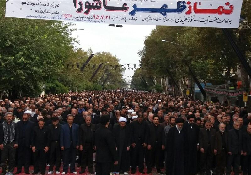 نماز ظهر عاشورا در 35 نقطه استان گلستان اقامه میشود