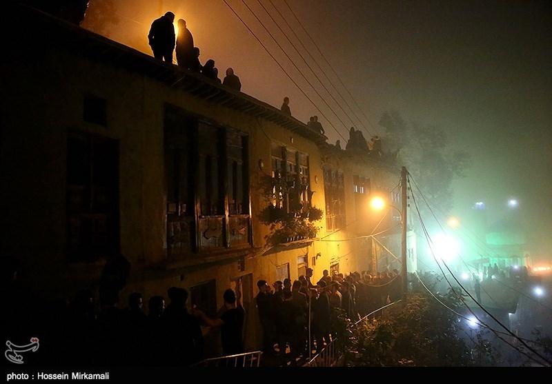 عزاداری شب عاشورا در ماسوله