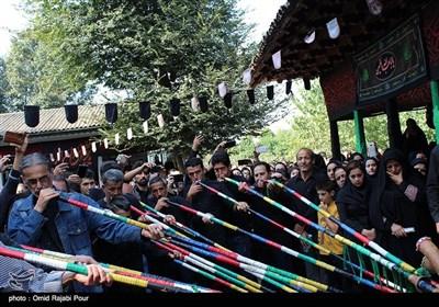 عزاداری ظهر عاشورا در روستای کلاچای گیلان