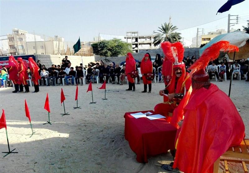 استان بوشهر خاستگاه هنر مذهبی و نمایشی تعزیهخوانی