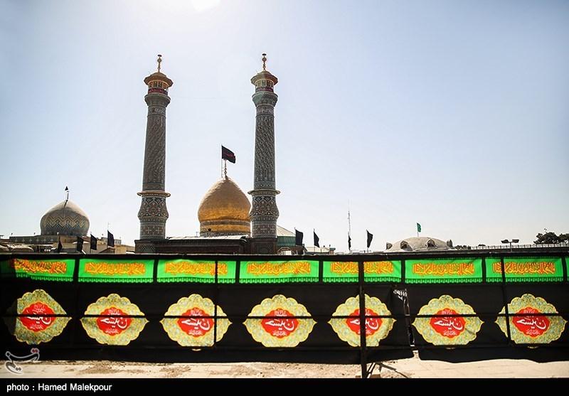 عزاداری عاشورای حسینی - حرم حضرت عبدالعظیم حسنی(ع)