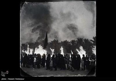 تعزیه روز عاشورا در اهرم