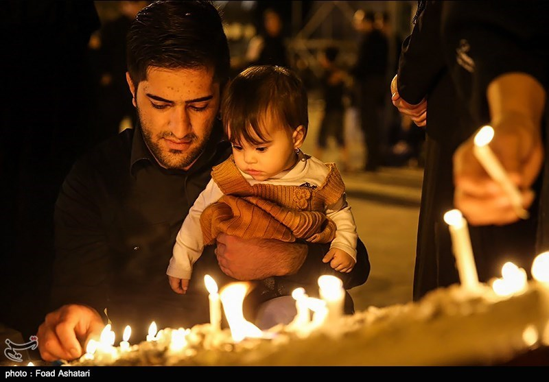 مراسم عزاء الغرباء فی طهران