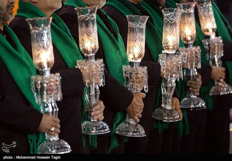 بالصور.. مراسم عزاء لیلة الحادیة عشرة من المحرم فی انحاء ایران