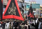 مراسم عزاداری روز عاشورا در پاکستان + تصاویر