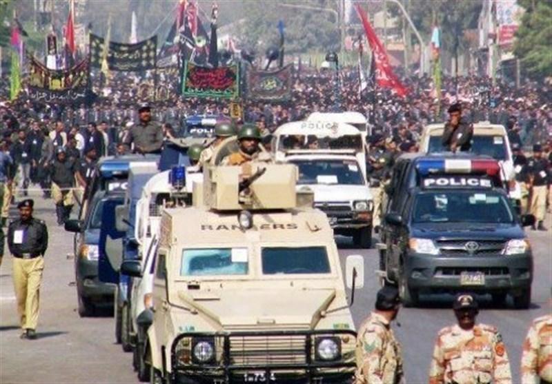گزارش تسنیم|تدابیر شدید امنیتی در پاکستان همزمان با آغاز ماه محرم