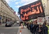 تصاویر/حرکت دسته عزاداری ظهر عاشورا در لندن