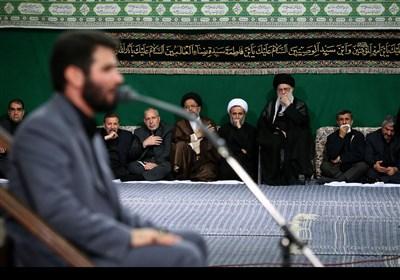 Hz.Hüseyin'in Şehadetinden Sonraki ilk Gecesi (Şamı Gariban) Merasimi İslam İnkılabı Rehberinin Katılımıyla Düzenlendi