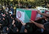 تشییع شهید دوران دفاع مقدس و مدافع حرم در اصفهان