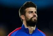 احتمال مجازات پیکه به دلیل انتقاد از داور بازی بارسلونا - اتلتیک بیلبائو