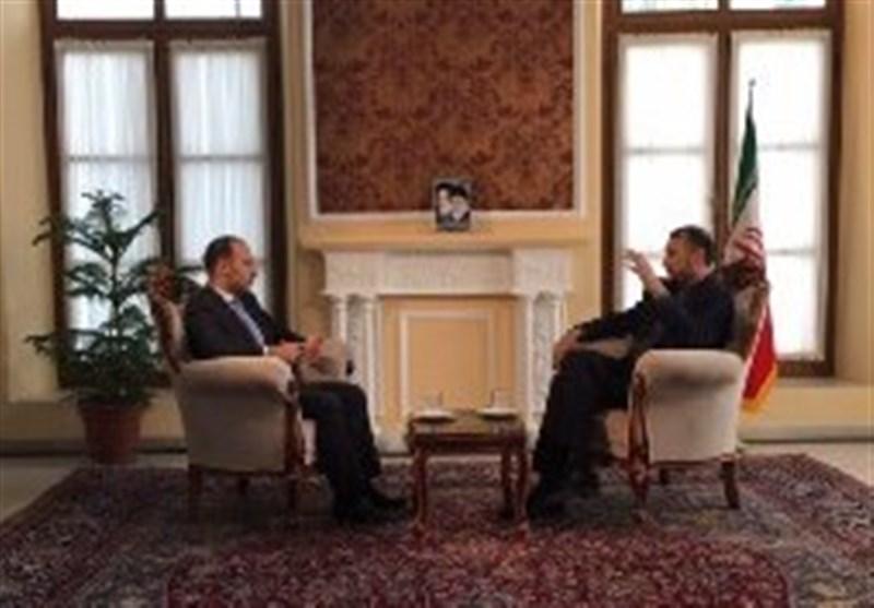 مصاحبه خبرنگار المیادین با امیرعبداللهیان