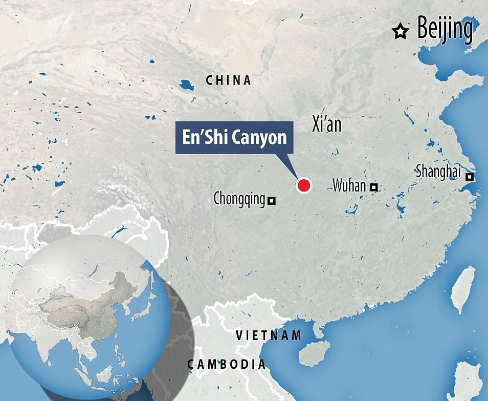عکس چین توریستی چین بهترین مناطق توریستی Grand Canyon
