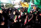 اجتماع بزرگ رهروان زینبی در امامزادگان مازندران برگزار شد+ تصاویر