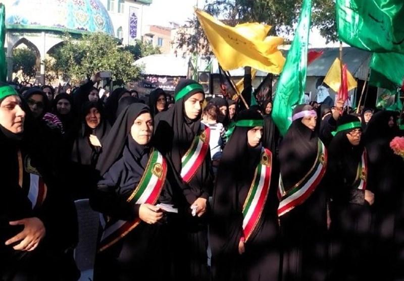 همایش رهروان زینبی(س) در استان اردبیل برگزار شد