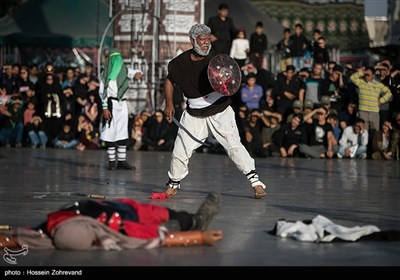 Ta'ziyeh Passion Play Performed at Tehran's Imam Hussein Square
