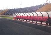ورزشگاه ثامن و حاشیه دیدار استقلال و سیاه جامگان