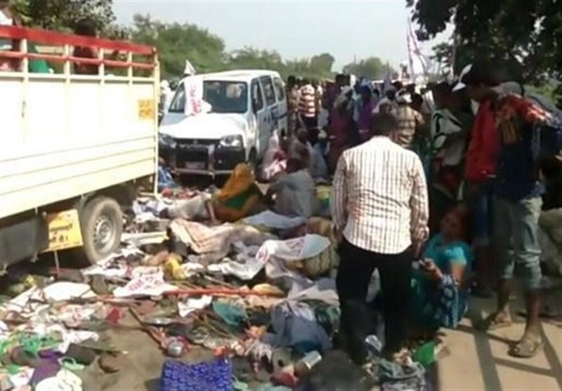 بھارت: مذہبی تہوار کے دوران بھگدڑ سے 24 افراد ہلاک، متعدد زخمی