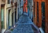 کوچههای زیبای شهر جنوا در ایتالیا