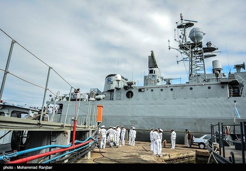 Iranian Navy Warships Set Sail for Azerbaijan Republic