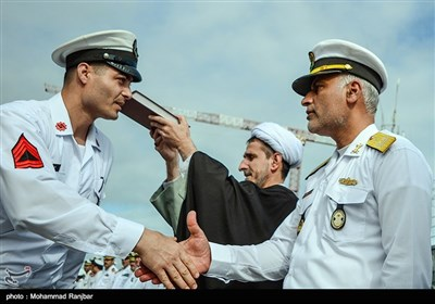 Iranian Navy Warships Set Sail for Azerbaijan Republic