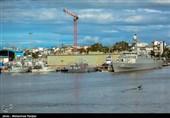 اعزام ناوگرو نیروی دریایی ارتش به بندر باکو