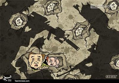 کاریکاتور/ جنگ بی پایان در سوریه