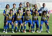دیدار تیمهای فوتبال گسترش فولاد و پدیده - تبریز