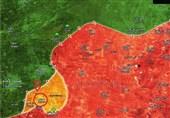 حملات گسترده ارتش سوریه به مواضع تروریستها در حماه