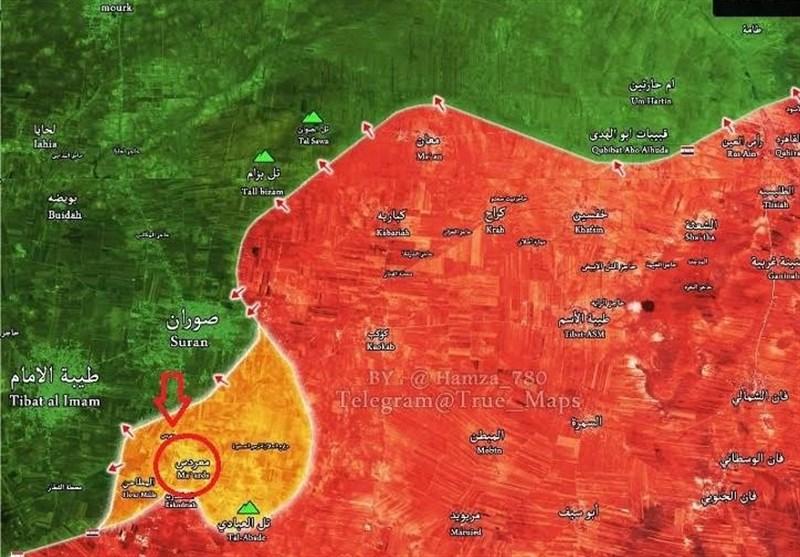 پدافند هوایی سوریه حملات اسرائیل به حومه حماه را دفع کرد