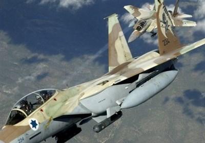 صہیونی جنگی طیاروں کی غزہ پر تازہ بمباری