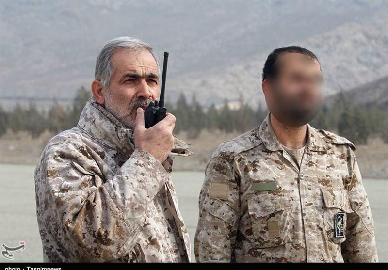 گزارش تصویری/ سردار شهید مایلی فرمانده گردان هوایی یگان ویژه صابرین