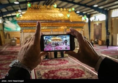 قم المقدس میں امام حسن عسکری علیہ السلام کی ضریح مبارک کا تعمیری کام مکمل