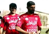 محمد انصاری تمرین پرسپولیس